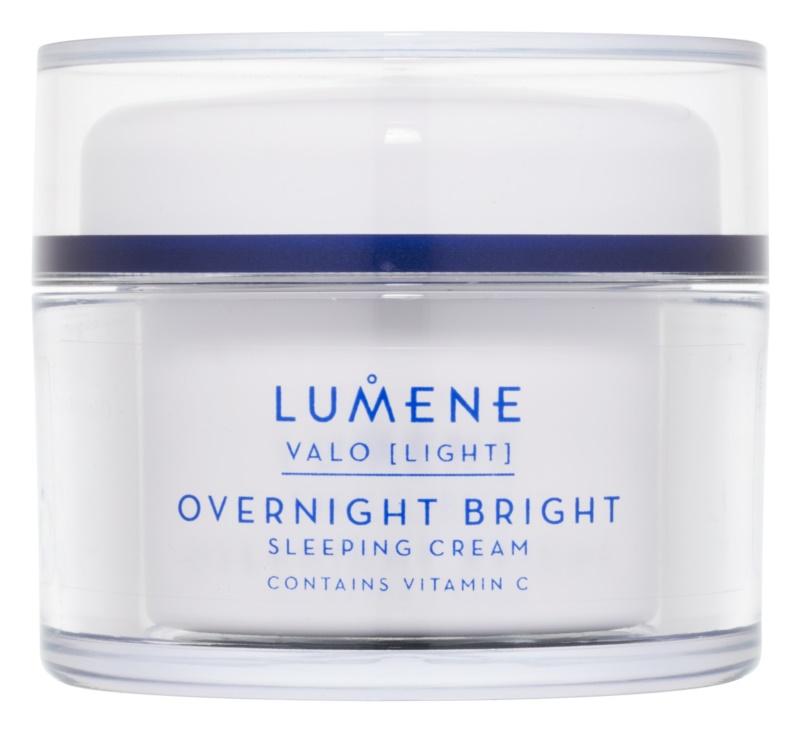 Lumene Valo [Light] rozjasňujúci nočný krém s vitamínom C